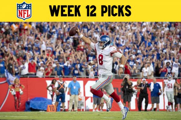 NFL Picks Gameweek 12